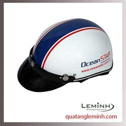 Mũ bảo hiểm quảng cáo - mũ bảo hiểm nửa đầu không kính 014
