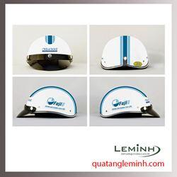 Mũ bảo hiểm quảng cáo - mũ bảo hiểm nửa đầu không kính 005