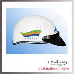 Mũ bảo hiểm quảng cáo - mũ bảo hiểm nửa đầu không kính 031
