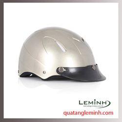 Mũ bảo hiểm quảng cáo - mũ bảo hiểm nửa đầu không kính 030