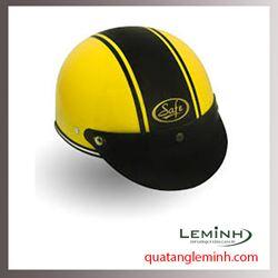 Mũ bảo hiểm quảng cáo - mũ bảo hiểm nửa đầu không kính 011
