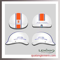 Mũ bảo hiểm quảng cáo - mũ bảo hiểm nửa đầu không kính 012