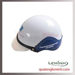 Mũ bảo hiểm quảng cáo - mũ bảo hiểm nửa đầu không kính 028