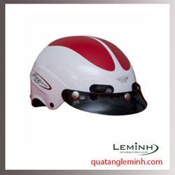 Mũ bảo hiểm quảng cáo - mũ bảo hiểm nửa đầu không kính 015