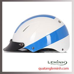 Mũ bảo hiểm quảng cáo - mũ bảo hiểm nửa đầu không kính 002