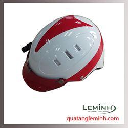 Mũ bảo hiểm quảng cáo - mũ bảo hiểm nửa đầu không kính 018