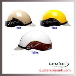 Mũ bảo hiểm quảng cáo - mũ bảo hiểm nửa đầu không kính 021