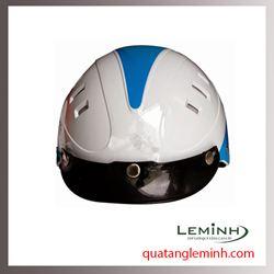 Mũ bảo hiểm quảng cáo - mũ bảo hiểm nửa đầu không kính 020