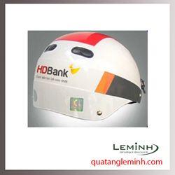 Mũ bảo hiểm quảng cáo - mũ bảo hiểm nửa đầu không kính 026