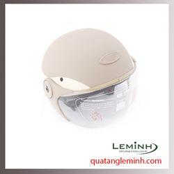 Mũ bảo hiểm quà tặng - Mũ bảo hiểm nửa đầu có kính cao cấp