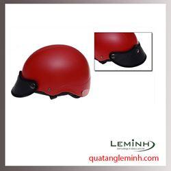 Mũ bảo hiểm quà tặng - Mũ bảo hiểm nửa đầu không kính cao cấp