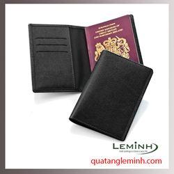 Bao hộ chiếu , ví du lịch chất liệu da, giả da 025