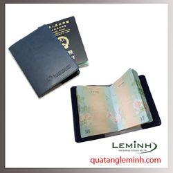 Bao hộ chiếu , ví du lịch chất liệu da, giả da 016