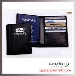 Bao hộ chiếu , ví du lịch chất liệu da, giả da 012