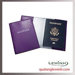 Bao hộ chiếu , ví du lịch chất liệu da, giả da 014