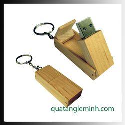 USB quà tặng - USB gỗ 008