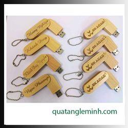 USB quà tặng - USB gỗ 013
