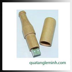 USB quà tặng - USB gỗ 014