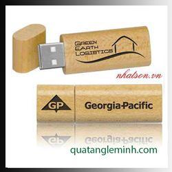 USB quà tặng - USB gỗ 017