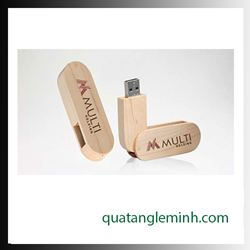 USB quà tặng - USB gỗ 020