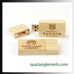USB quà tặng - USB gỗ 025