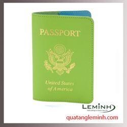 Bao hộ chiếu , ví du lịch chất liệu da, giả da