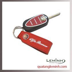 Móc chìa khóa quà tặng - Móc chìa khóa da 014