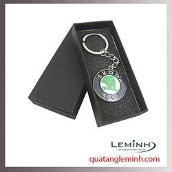 Móc chìa khóa quà tặng - Móc chìa khóa da