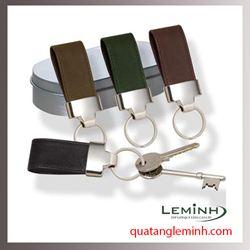 Móc chìa khóa quà tặng - Móc chìa khóa da 001
