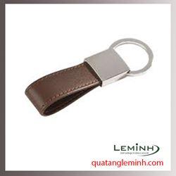 Móc chìa khóa quà tặng - Móc chìa khóa da 002