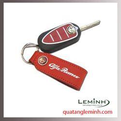 Móc chìa khóa quà tặng - Móc chìa khóa da 007