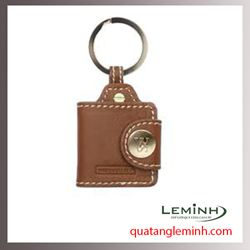 Móc chìa khóa quà tặng - Móc chìa khóa da 008