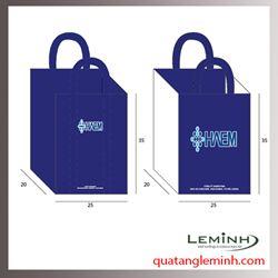 Túi vải không dệt - túi hộp quai xách 031