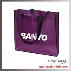 Túi vải không dệt - túi hộp quai xách 001