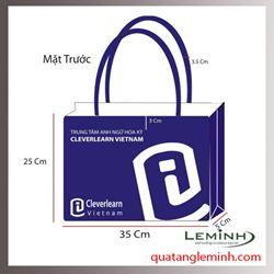 Túi vải không dệt - túi hộp quai xách 002