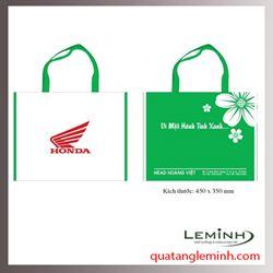 Túi vải không dệt - túi hộp quai xách 016