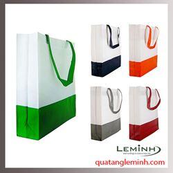 Túi vải không dệt - túi hộp quai xách 009