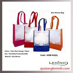 Túi vải không dệt - túi hộp quai xách 010