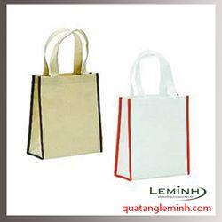 Túi vải không dệt - túi hộp quai xách 011