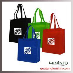 Túi vải không dệt - túi hộp quai xách 012
