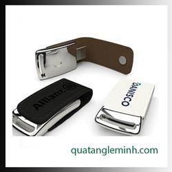 USB quà tặng - USB da 008