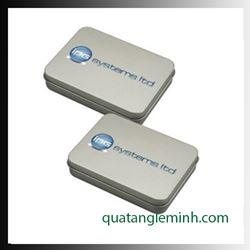 USB quà tặng - Hộp USB - Hộp thiếc nhỏ không kính