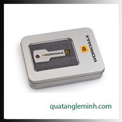 USB quà tặng - Hộp USB - Hộp thiếc có kính to