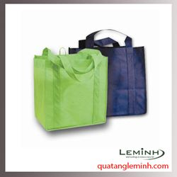 Túi vải không dệt - túi vải quai liền thân 025