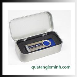 USB quà tặng - Hộp USB - Hộp thiếc nhỏ