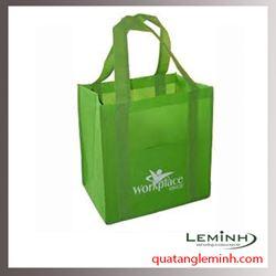 Túi vải không dệt - túi vải quai liền thân 022