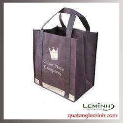 Túi vải không dệt - túi vải quai liền thân 021