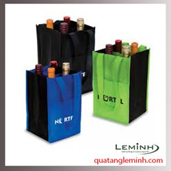 Túi vải không dệt - túi vải quai liền thân 018