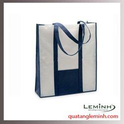 Túi vải không dệt - túi vải quai liền thân 013