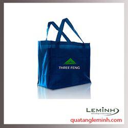 Túi vải không dệt - túi vải quai liền thân 016
